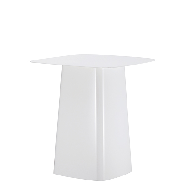 Vitra Metal Side Table, M, white