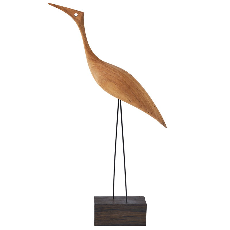 Warm Nordic Beak Bird, Tall Heron