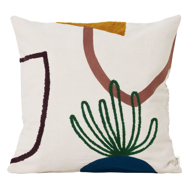 Ferm Living Mirage cushion, Island