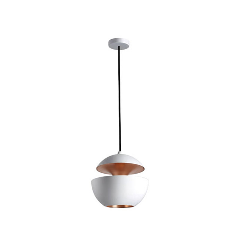 DCW éditions Here Comes The Sun 175 pendant, white - copper
