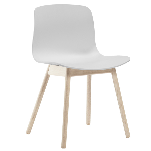 Hay About A Chair AAC12,  white - matt lacquered oak