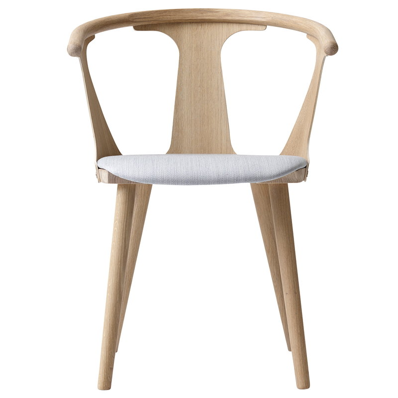 &Tradition In Between SK2 chair, white oiled oak - Fiord 251
