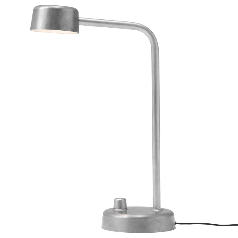 &Tradition Working Title HK1 table lamp, hand polished aluminium