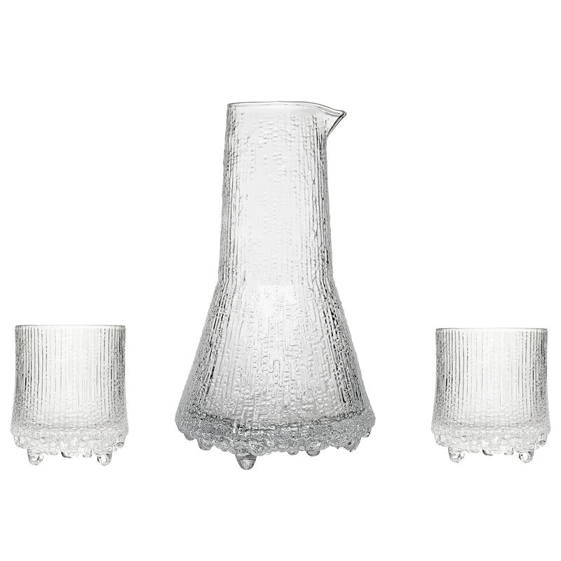 Iittala Ultima Thule set, pitcher 50 cl + O.F. tumblers 20 cl