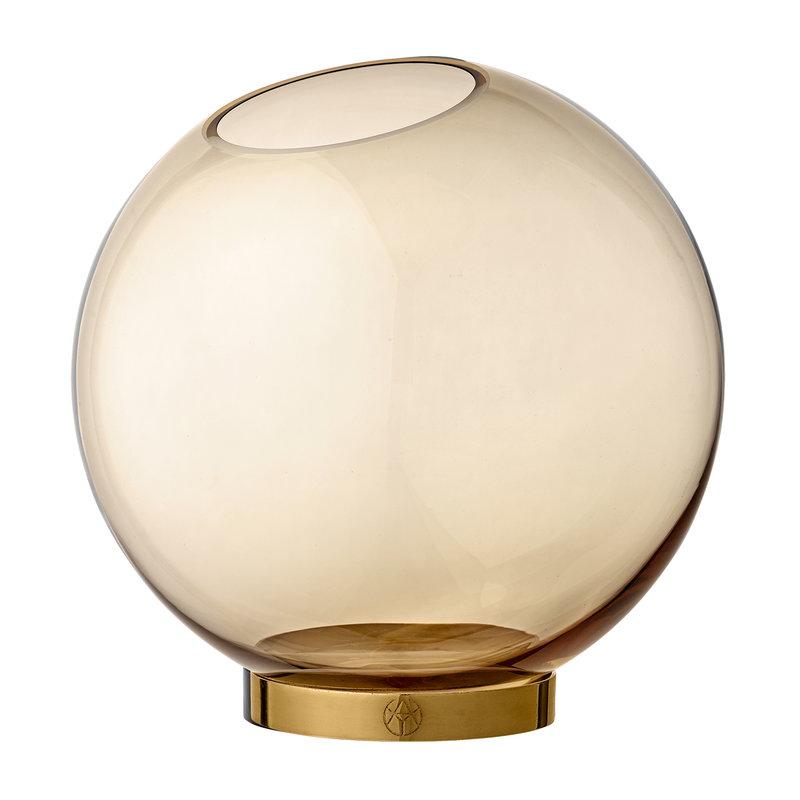 AYTM Globe maljakko, iso, meripihka - kulta