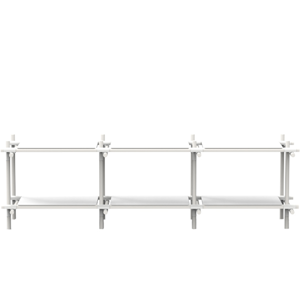 Menu Stick System 3 x 2, white
