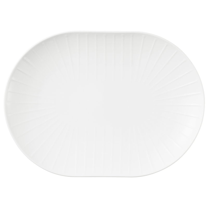 Tivoli Banquet serving tray, white
