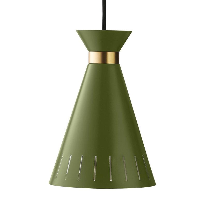 Warm Nordic Cone pendant, pine green