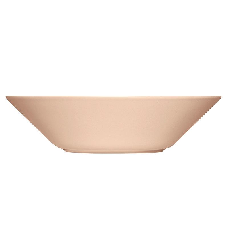 Iittala Teema syvä lautanen 21 cm, puuteri