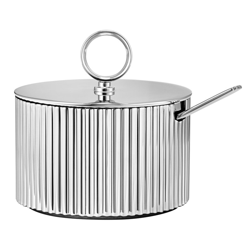 Georg Jensen Bernadotte sugar bowl incl. spoon