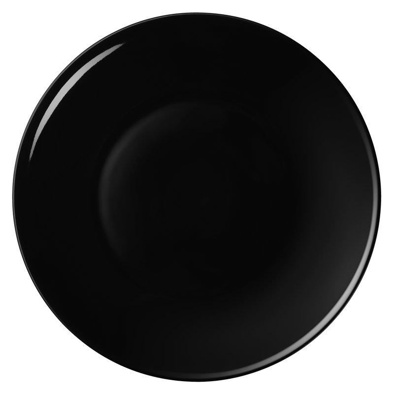 Arabia Piatto 24h 26 cm, nero