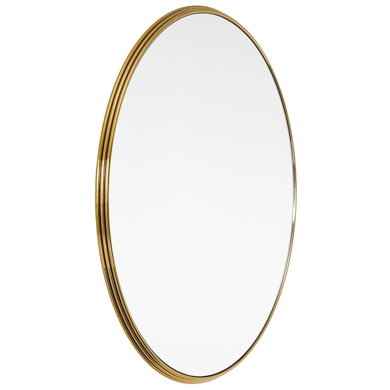 &Tradition Sillon SH6 mirror 96 cm, brass