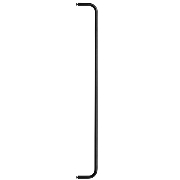 String String + metal rod, 71 cm, black