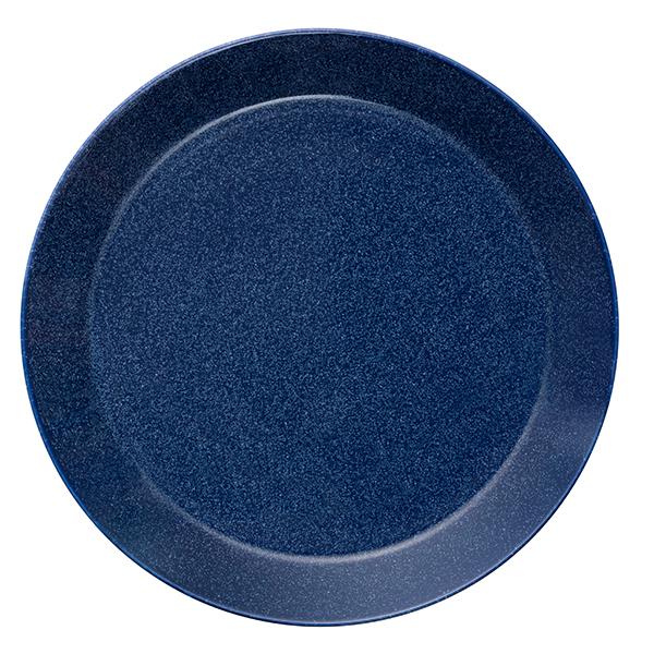 Iittala Piatto Teema 26 cm, blu puntinato