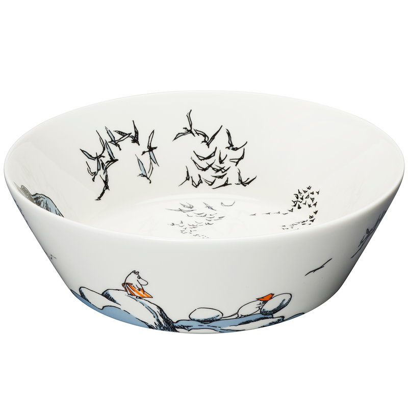 Arabia Moomin serving bowl, True to Its Origins