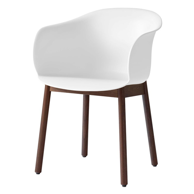 &Tradition Elefy JH30 chair, white - walnut