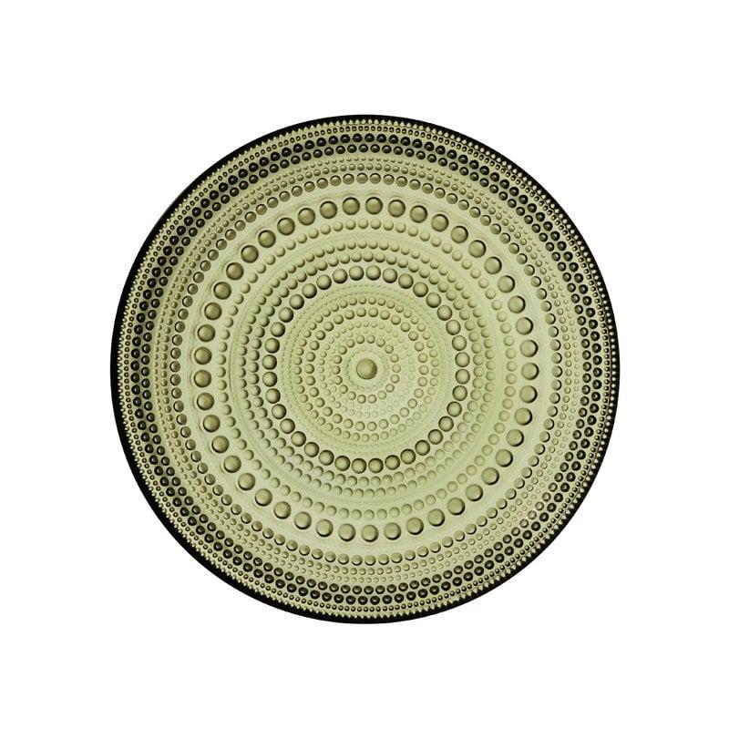 Iittala Kastehelmi plate 170 mm, moss green