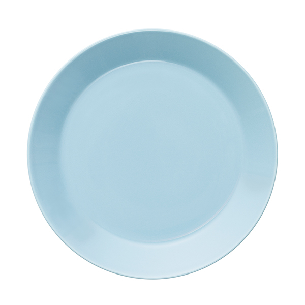 Iittala Teema plate 21 cm, light blue