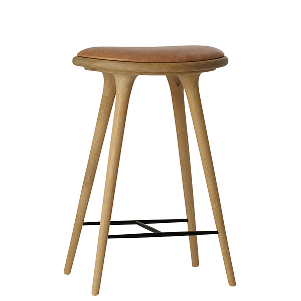 Mater High Stool, 69 cm, soaped oak