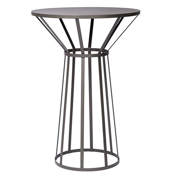 Petite Friture Hollo table, anthracite