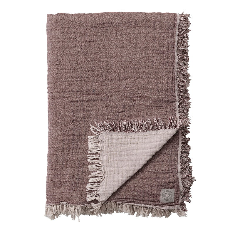 &Tradition Collect SC33 throw, 260 x 260 cm, cloud - burgundy