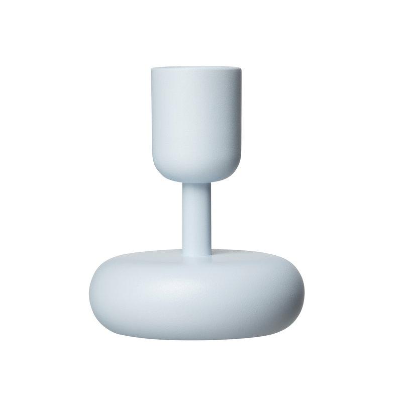 Iittala Nappula kynttilänjalka 107 mm, vedensininen