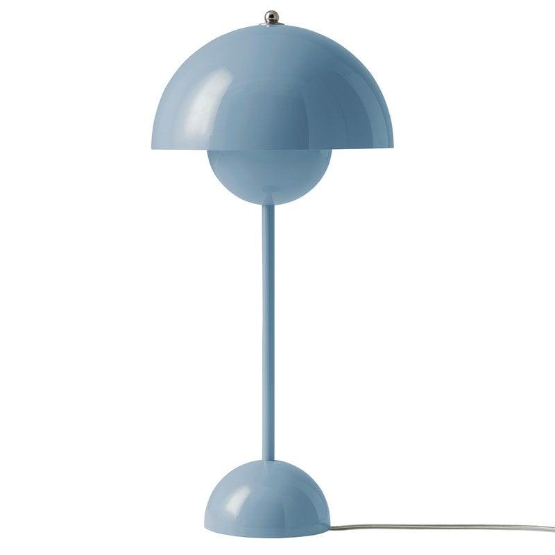 &Tradition Lampada da tavolo Flowerpot VP3, celeste