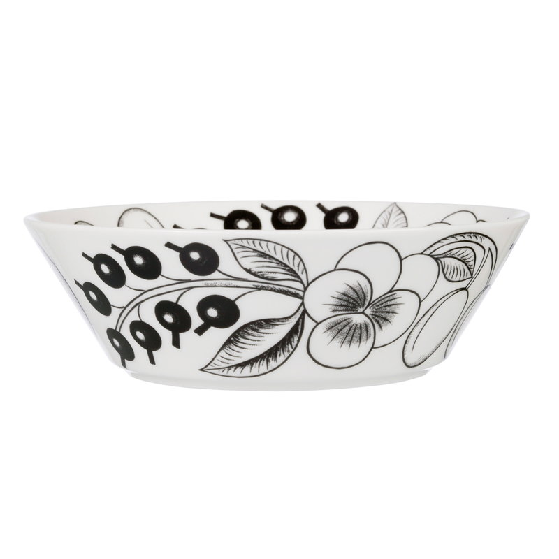 Arabia Paratiisi bowl 17 cm, black