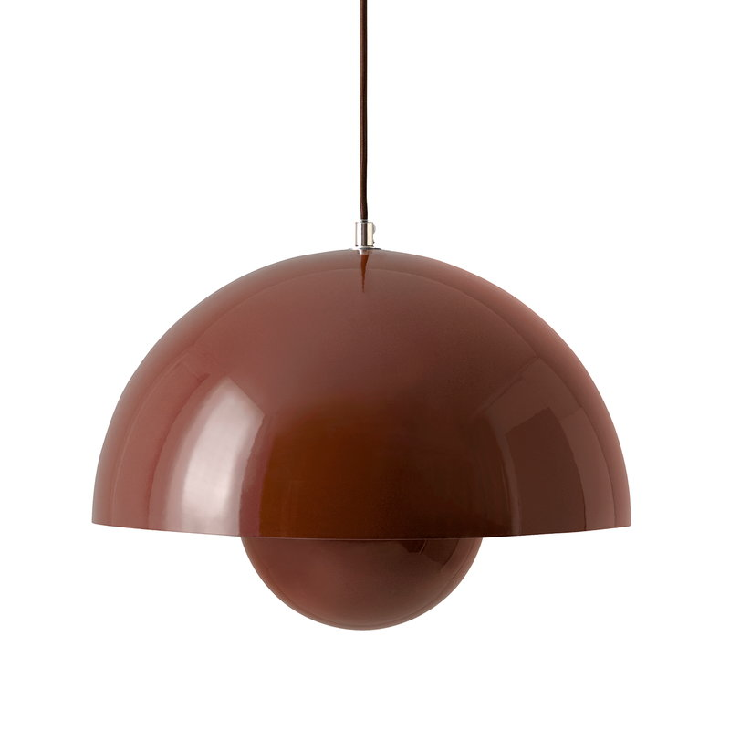 &Tradition Flowerpot VP7 pendant, red brown