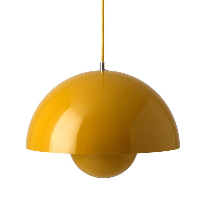 &Tradition Flowerpot VP7 pendant, mustard