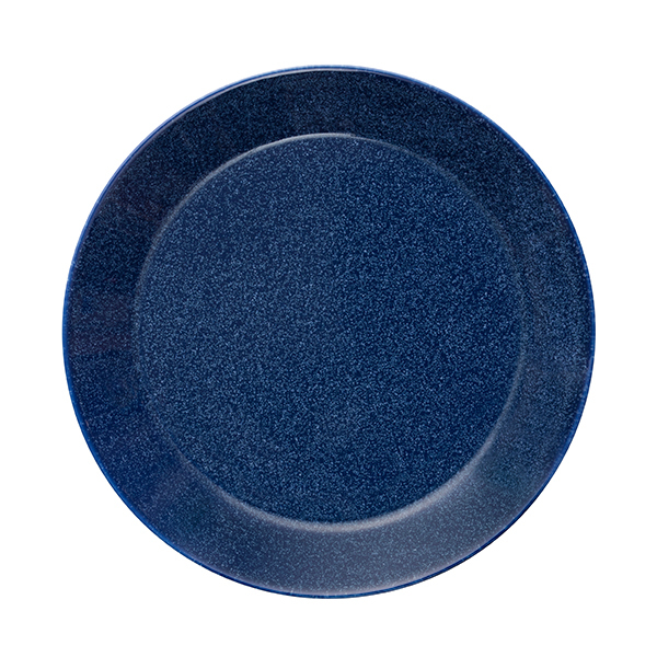 Iittala Piatto Teema 21 cm, blu puntinato