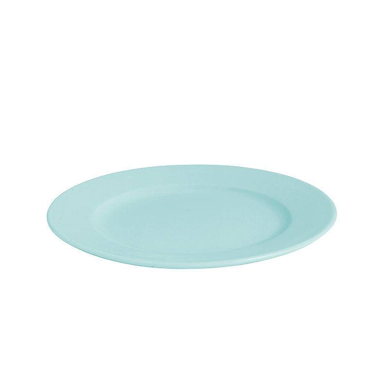 Hay Rainbow plate, small, turquoise