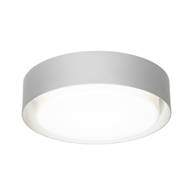 Marset Plaff-On 33 ceiling lamp, silver grey