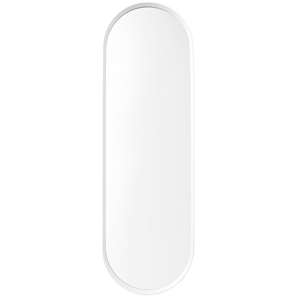 Menu Norm wall mirror, oval, white