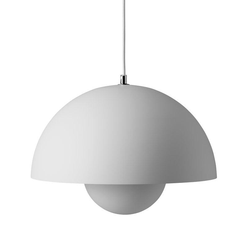 &Tradition Flowerpot VP7 pendant, matt light grey