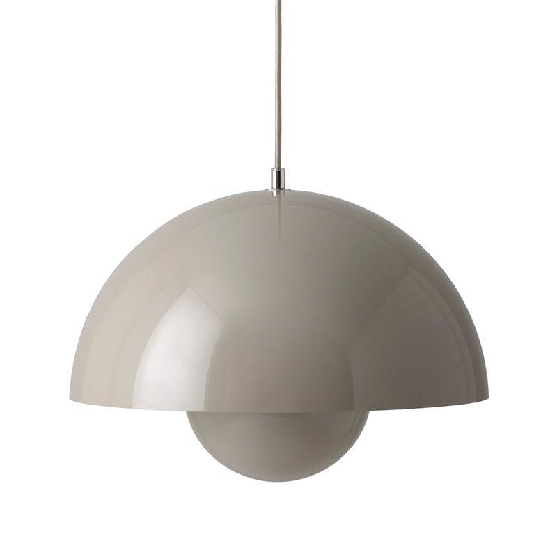 &Tradition Flowerpot VP7 pendant, grey beige