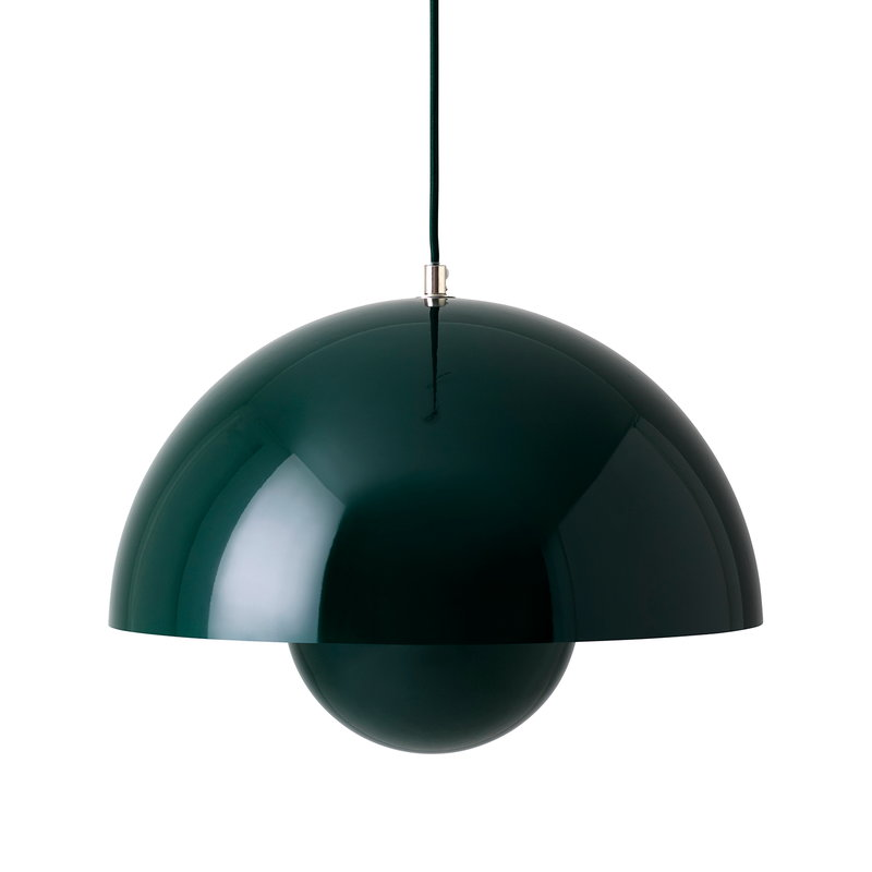 &Tradition Flowerpot VP7 pendant, dark green