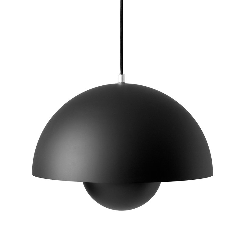 &Tradition Flowerpot VP7 pendant, matt black