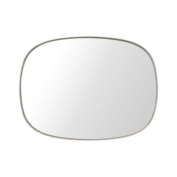 Muuto Framed mirror, small, grey