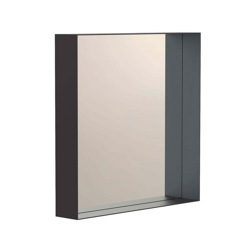 Frost Unu mirror 4132, 40 x 40 cm, black