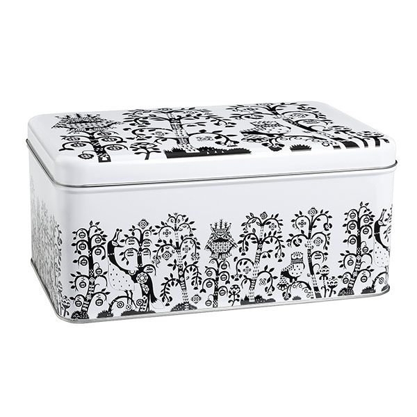 Iittala Taika tin box, black