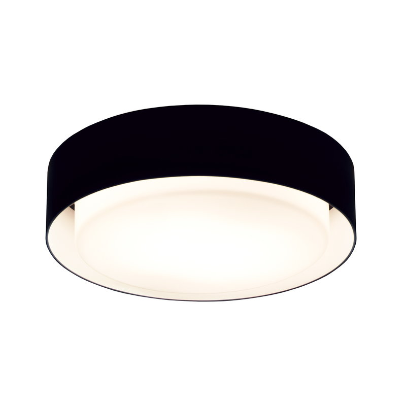 Marset Plaff-On 33 ceiling lamp, black