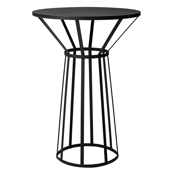 Petite Friture Hollo table, black