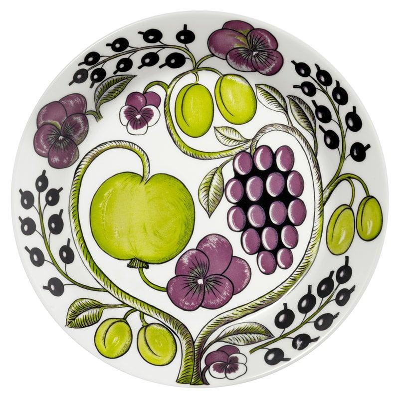 Arabia Paratiisi plate 26 cm, purple