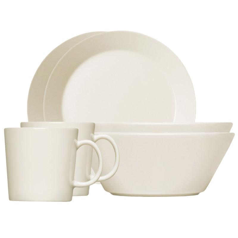 Iittala Teema aamiaissetti, valkoinen