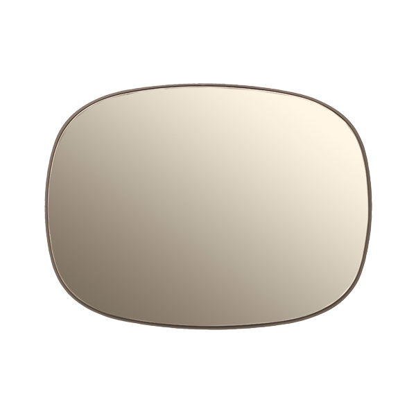 Muuto Framed mirror, small, taupe