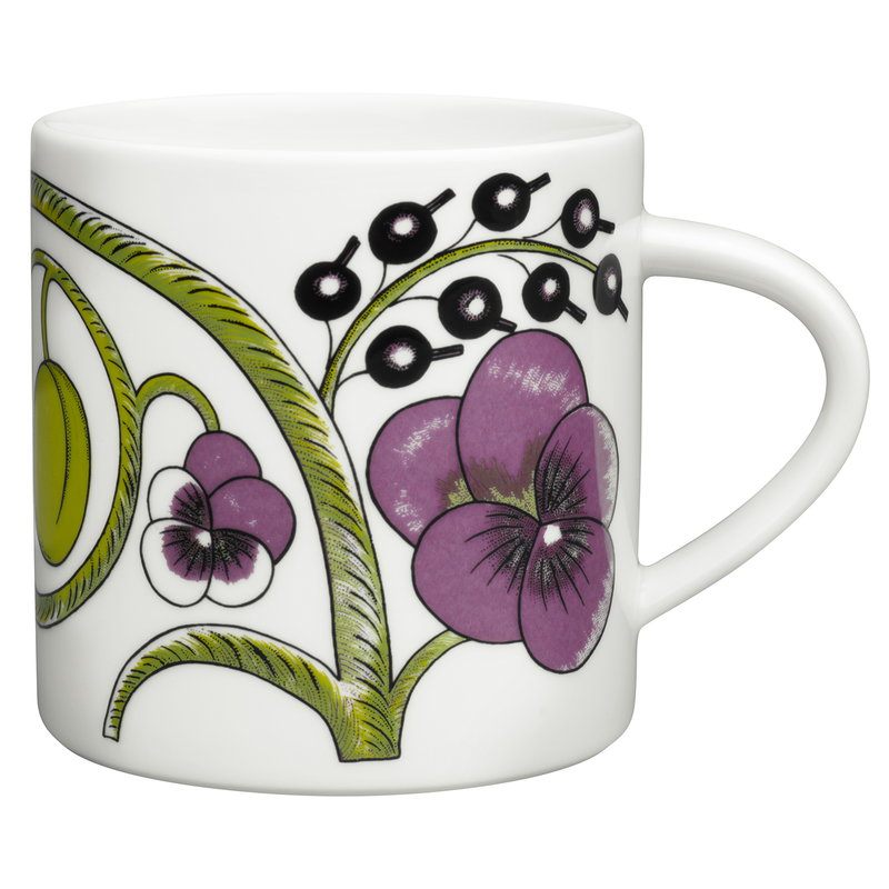 Arabia Paratiisi mug 0,35 L, purple