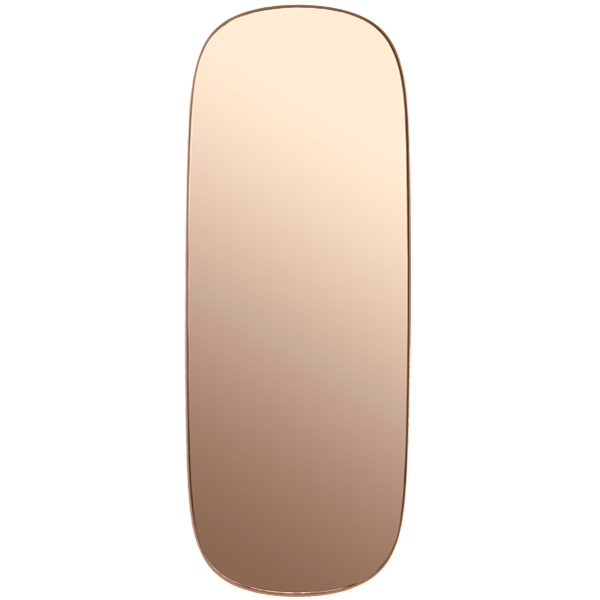 Muuto Framed mirror, large, rose