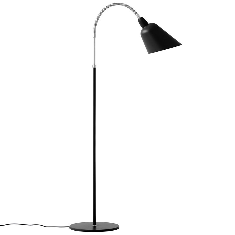 &Tradition Bellevue AJ7 floor lamp, black - steel