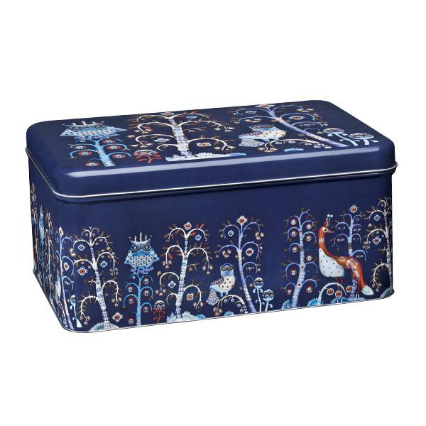 Iittala Taika tin box, blue